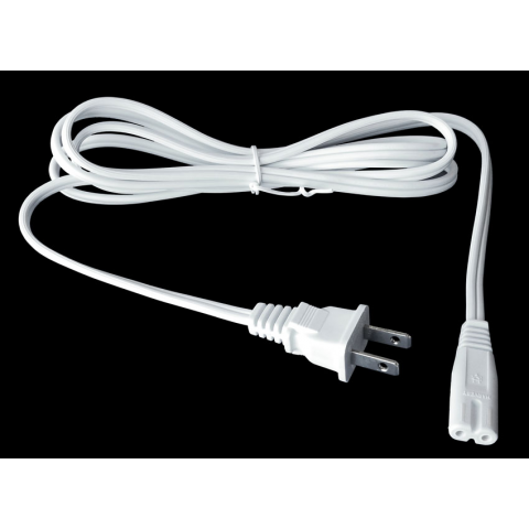6' 2-CONDUCTOR UNIVERSAL POWER CORD, NON-POLARIZED