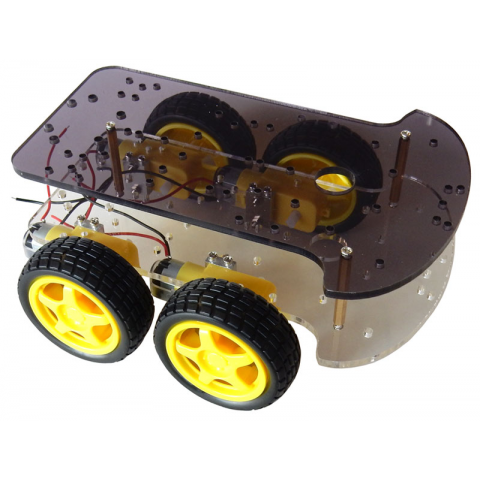 4-WHEEL DRIVE VEHICLE CHASSIS KIT