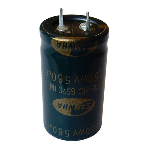 560 UF 250VDC SNAP-IN ELECTROLYTIC CAPACITOR