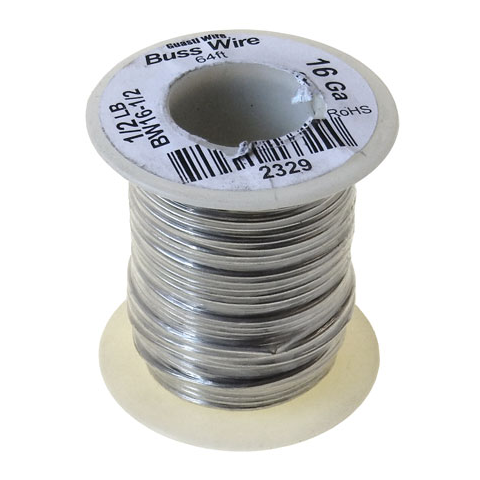 16 GAUGE BUSS WIRE, 1/2 LB ROLL