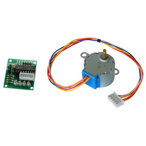 STEPPER MOTOR AND DRIVER BOARD