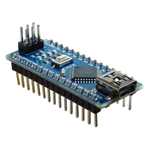 NANO ATMEGA328 MICROCONTROLLER BOARD W/ USB PORT