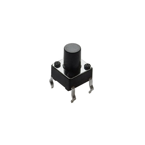 6MM TACTILE PUSHBUTTON, 8MM HIGH