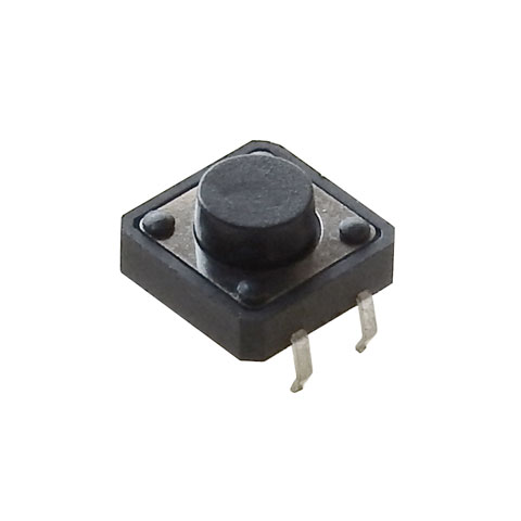 12MM TACTILE PUSHBUTTON, 6MM HIGH