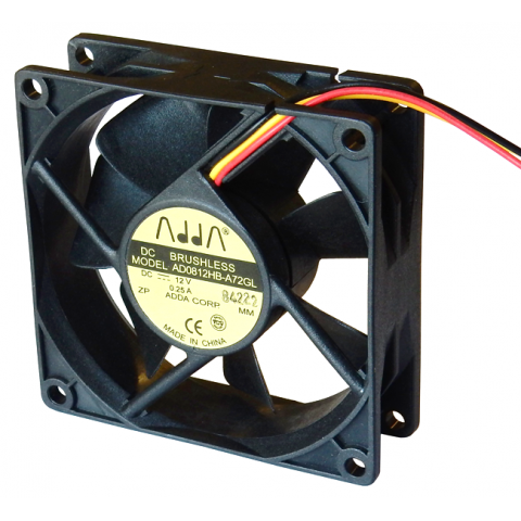 12VDC 80MM COOLING FAN