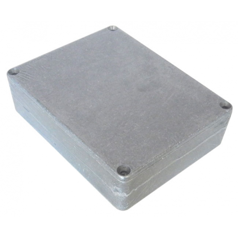 DIECAST ALUMINUM ENCLOSURE, 119.0 x 93.0 x 34.0 MM