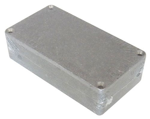 DIECAST ALUMINUM ENCLOSURE, 111.0 x 60.0 x 31.0 MM