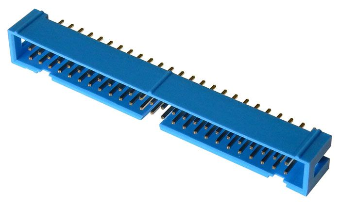 50-PIN SHROUDED HEADER