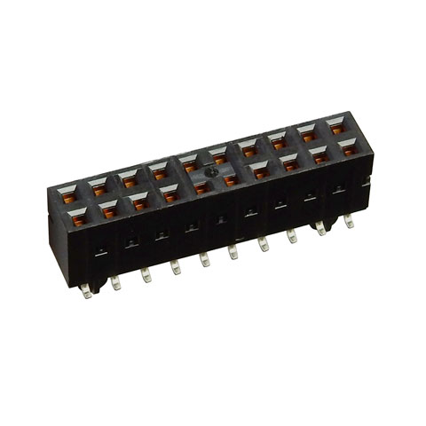 20 (2 x 10) HEADER SOCKET, SURFACE MOUNT