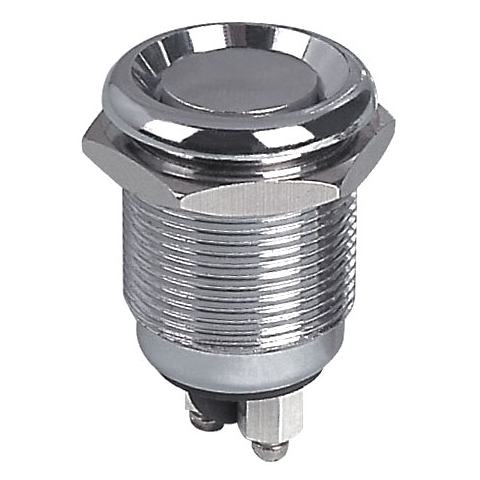 WEATHER-PROOF METAL PUSHBUTTON SWITCH