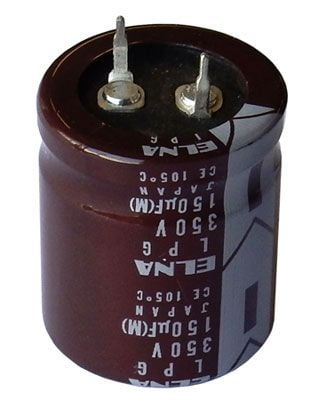 150 UF 350 V SNAP-IN CAPACITOR