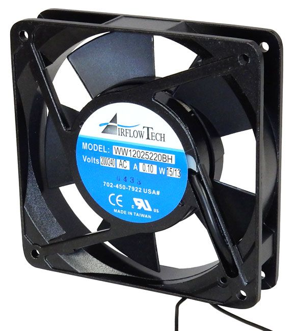 200 / 240 VAC 120MM COOLING FAN