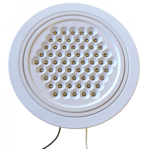 FLUSH-MOUNT LED FIXTURE, 120 VAC
