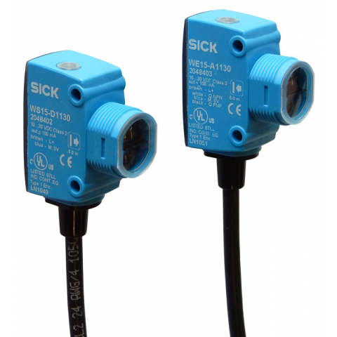 THROUGH-BEAM PHOTO-ELECTRIC SENSOR PAIR
