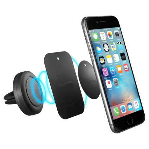 MAGNETIC QUICK SNAP VENT SMARTPHONE HOLDER