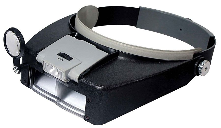 ILLUMINATED MULTI POWER HEAD MAGNIFIER & LOUPE