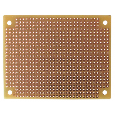 "2 1/2"" X 3 1/8"" SOLDERABLE PERF BOARD"