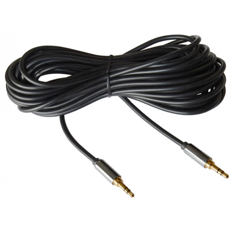 3.5MM STEREO MALE TO MALE AUDIO CABLE, 25 FT.