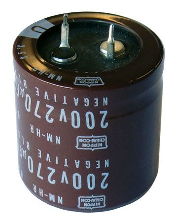 270 UF 200V SNAP-IN ELECTROLYTIC CAPACITOR