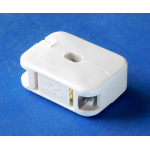 EASY INSTALL 2-WIRE AC RECEPTACLE, WHITE