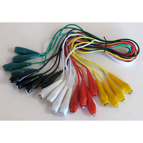 TEST LEADS WITH SPRING-TYPE TEST CLIPS