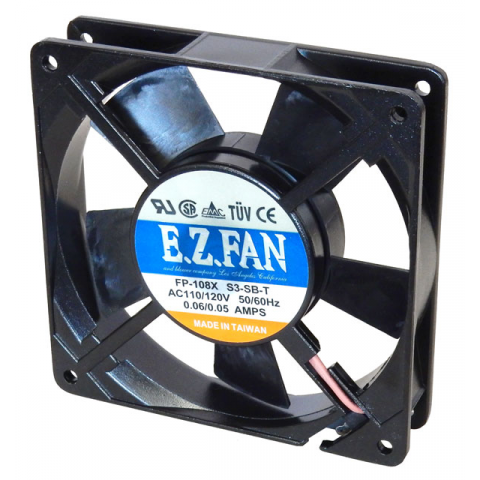 120VAC 119MM X 25MM SQUARE FAN