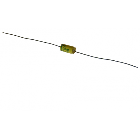 0.0042 UF, 100V AXIAL FILM CAPACITOR