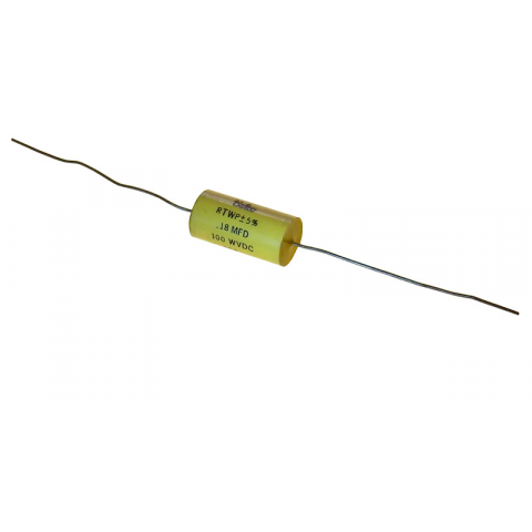 0.18 UF 100V AXIAL FILM CAPACTIOR