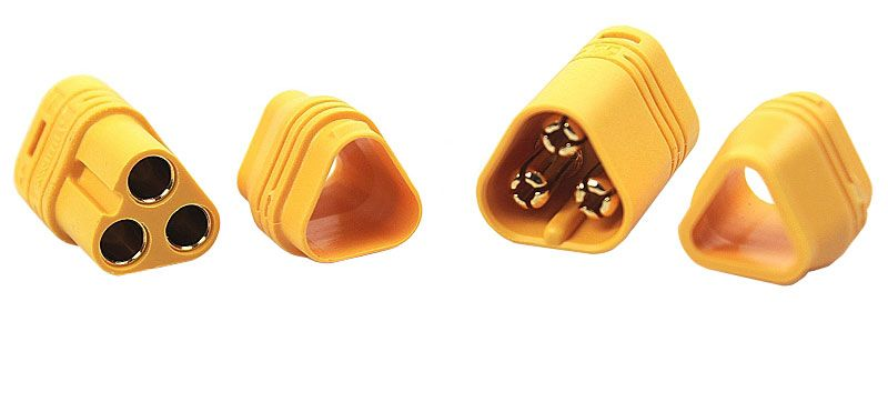 3-POLE BULLET CONNECTOR SET