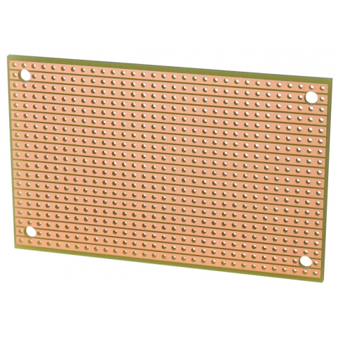 SOLID LINE PATTERN, SOLDERABLE PERF BOARD
