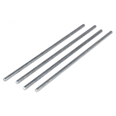 "8"" 5MM DIA. AXLES, 4-PCS"