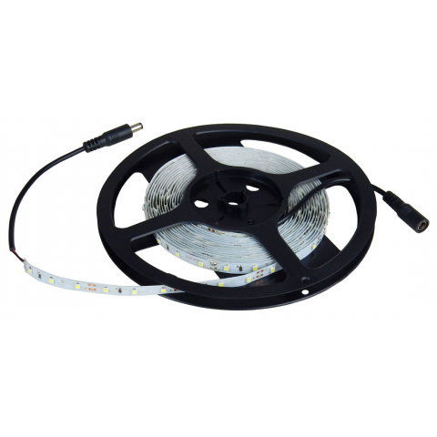 12 VDC COOL-WHITE LED LIGHT STRIP, 5 METERS