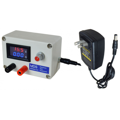 ADJUSTABLE POWER SUPPLY, DIGITAL METER