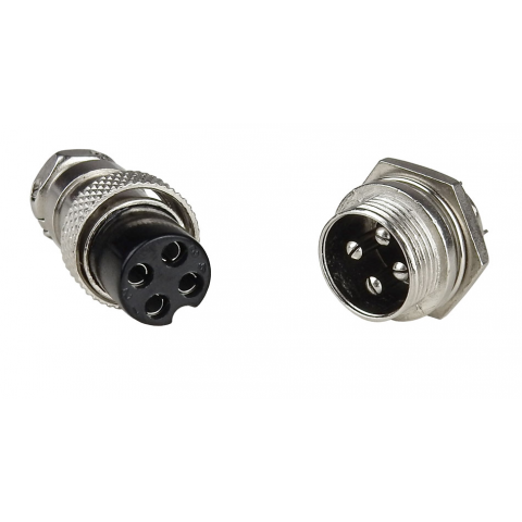 4-CONTACT SCREW-LOCK CONNECTOR
