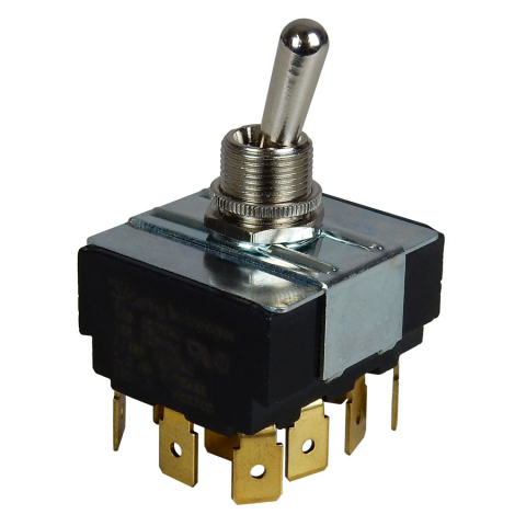4PDT 15A TOGGLE SWITCH