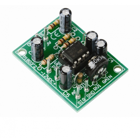 UNIVERSAL MONO PRE-AMPLIFIER KIT