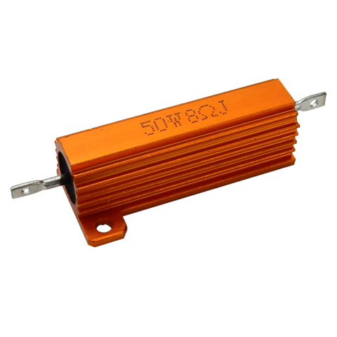 8 OHM 50 WATT METAL RESISTOR