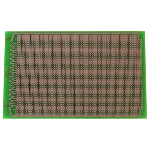SOLDERABLE PERF BOARD, 2 HOLE PAD