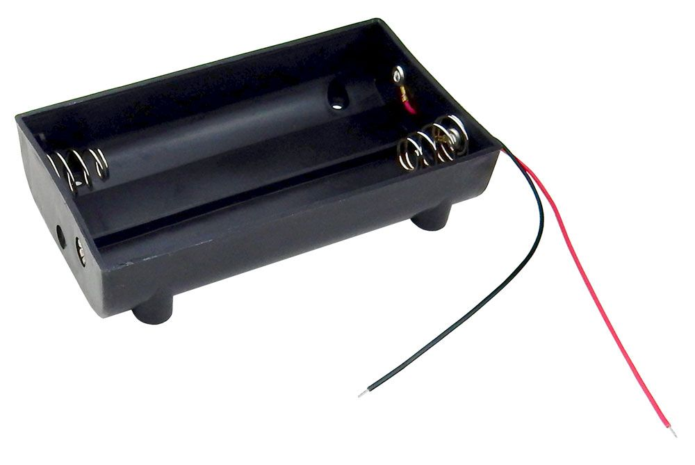 BATTERY HOLDER, 4 D CELLS