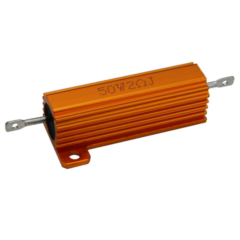 2 OHM 50 WATT METAL RESISTOR