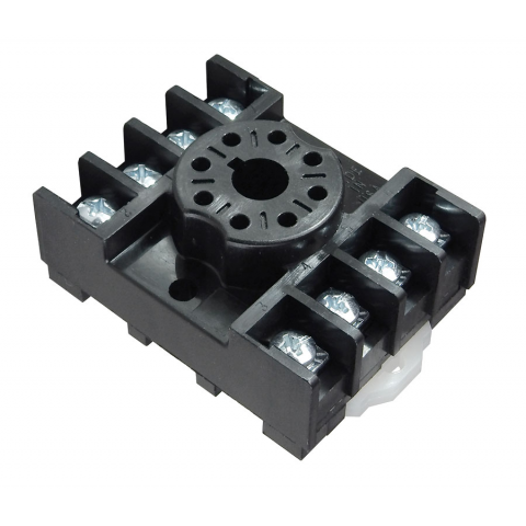 OCTAL SOCKET, SCREW TERMINALS