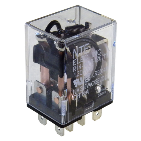 GENERAL PURPOSE RELAY, DPDT 120VAC 10AMP