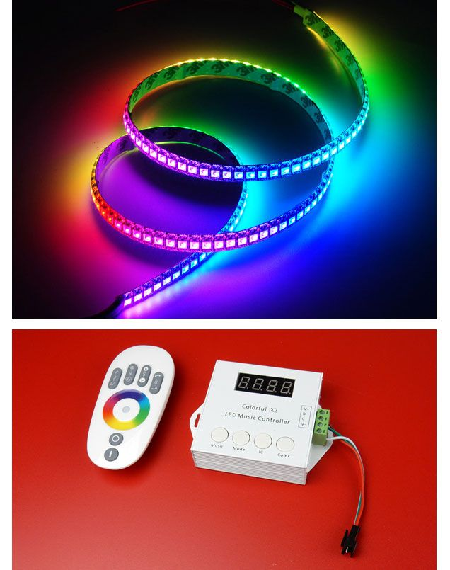 INDEPENDENTLY ADDRESSABLE LED STRIP & CONTROLLER