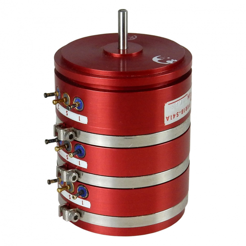 3-GANG PRECISION POTENTIOMETER