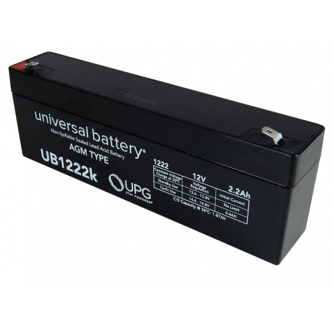 12V 2.2AH BATTERY, SEALED LEAD ACID