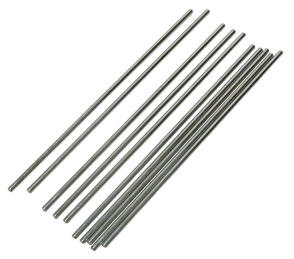 3MM DIAMETER X 150MM AXLE, 10 PIECES