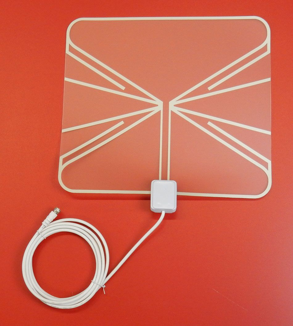 HD FLAT TRANSPARENT INDOOR ANTENNA