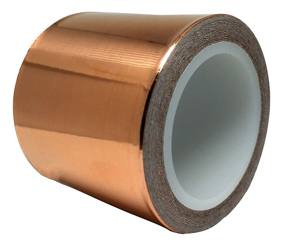 "COPPER TAPE, 2"" X 6 YARDS"