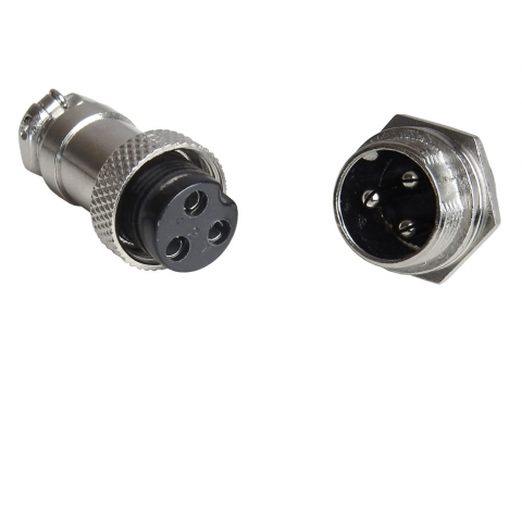3-CONTACT SCREW-LOCK CONNECTOR