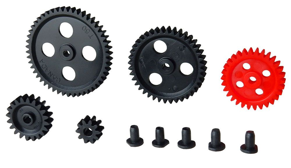 SET OF 5 GEARS AND BUSHINGS